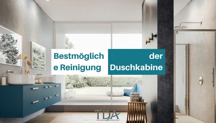 bestm gliche reinigung der duschkabine tda blog. Black Bedroom Furniture Sets. Home Design Ideas