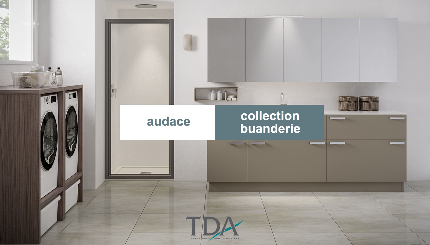 Audace, la collection dédiée à la buanderie