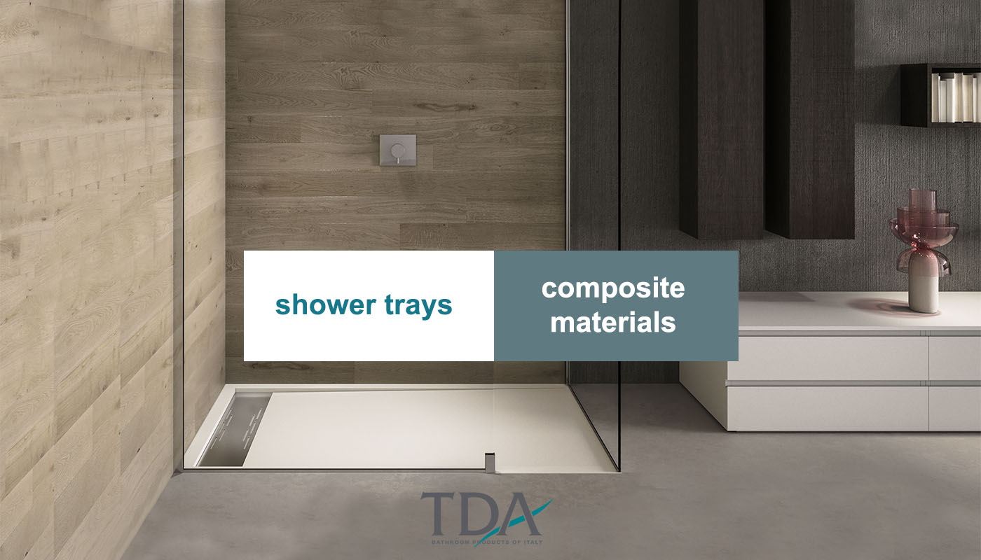 Shower Trays made of composite material – Arock®