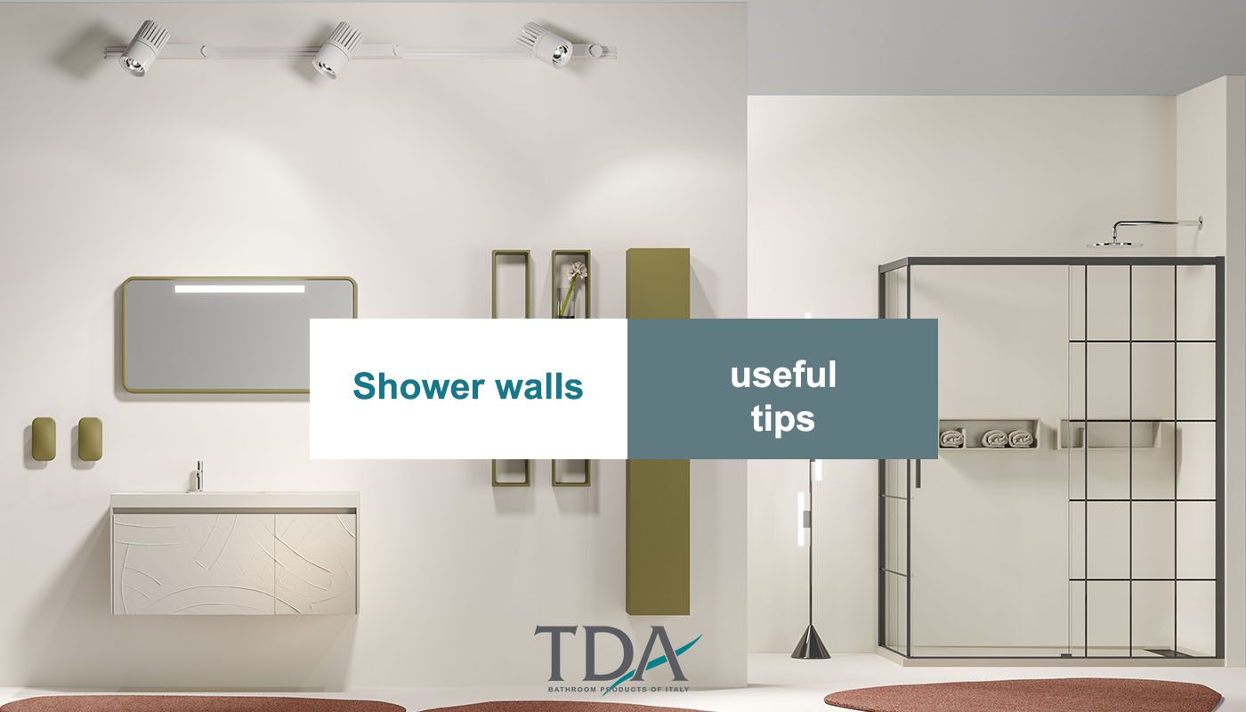 How to choose the right shower. Vito and Ottavio, TDA's latest models