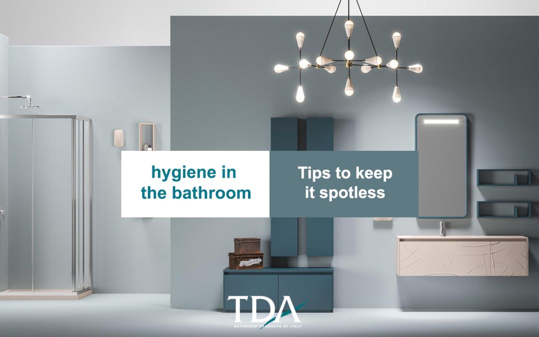 Hygiene in the bathroom, how to keep it clean